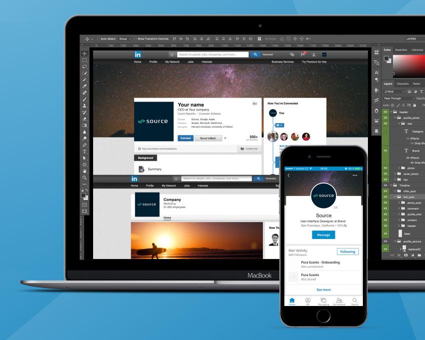 Social Media Kit Pro - LinkedIn