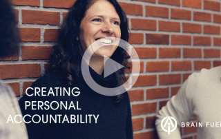 creating personal accountability