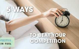 ways to beat the competition