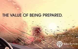The Value of Being Prepared