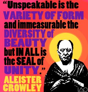 Crowley on Unity (2014)
