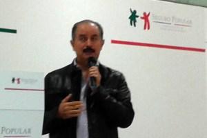 Dr. Javier Lozano, del Seguro Popular, durante la reunión de prestadores de servicios anual nacional