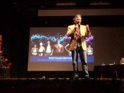 David Peña apoyó al 100% a la asociación de pacientes lisosomales en Lima, Perú