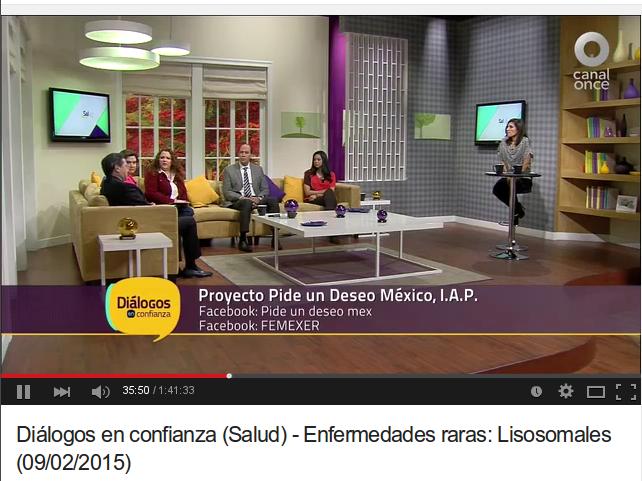 Canal OnceTV dialoga sobre las enfermedades raras
