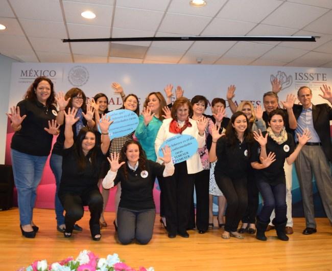 Celebración del Día de las Enfermedades Raras 2015 en la ciudad de México, ISSSTE Buenavista