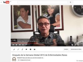 Gracias por tu participación en la Semana Global 2015 de Enfermedades Raras