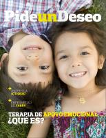 Portada de la revista Pide un Deseo, núm. 12, '¿Qué es la terapia de apoyo emocional?'