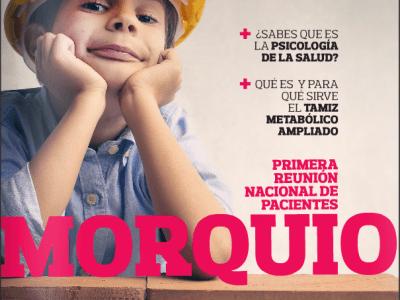 Revista Pide un Deseo, núm. 15, ed. 2015-dic y 2016-ene. El síndrome de Morquio, tamiz neonatal ampliado y psicología de la salud.