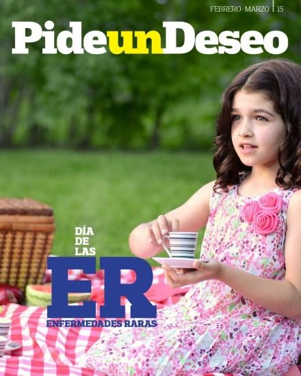 Revista Pide un Deseo, núm. 16, Día de las Enfermedades Raras (EERR) 29 febrero 2016