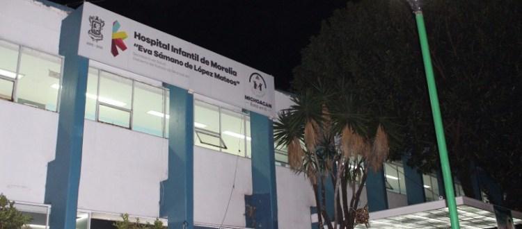 Niñas y niños de #Michoacán, prioridad en Salud