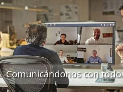 Videoconferencias, telecomunicaciones