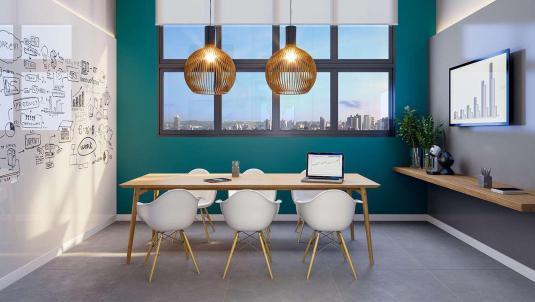 Espaço Office para reuniões de trabalho