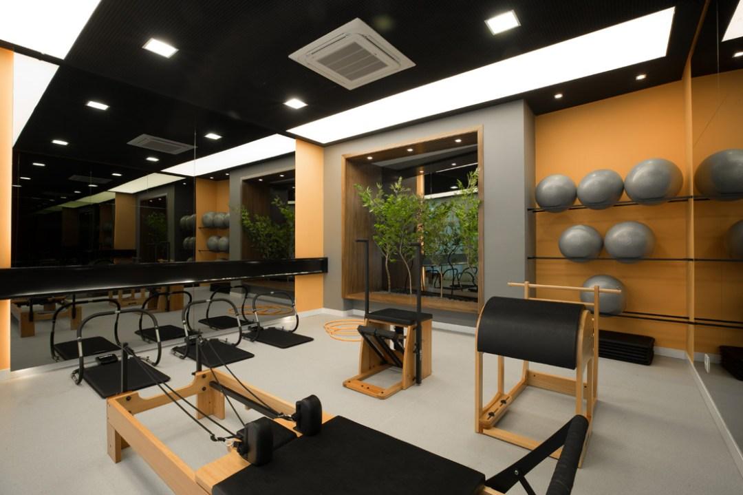 Sala de pilates de solo