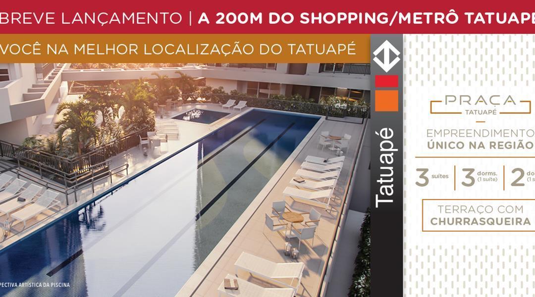 Lançamento Praça Tatuapé