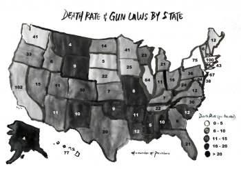 gun laws map