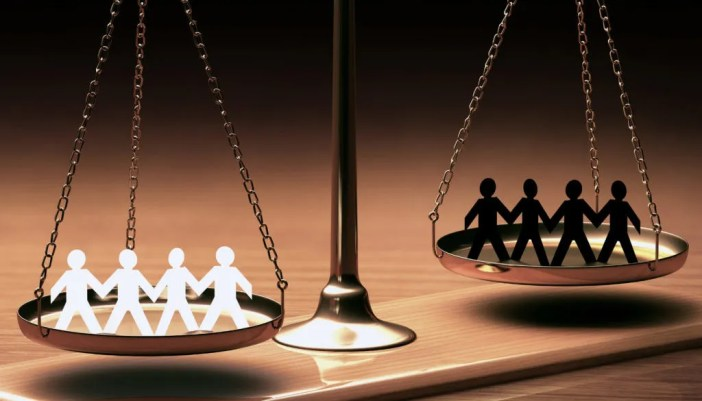 Image result for balance scale with people