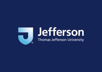 Logo on Blue