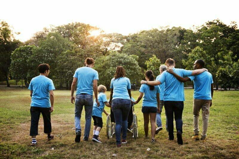 Group,Of,Diversity,People,Volunteer,Community,Service
