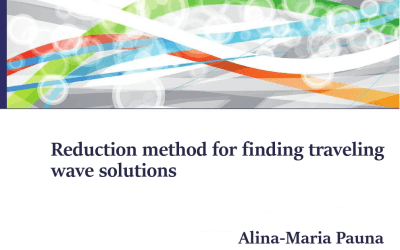 Reduction method for finding traveling wave solutions