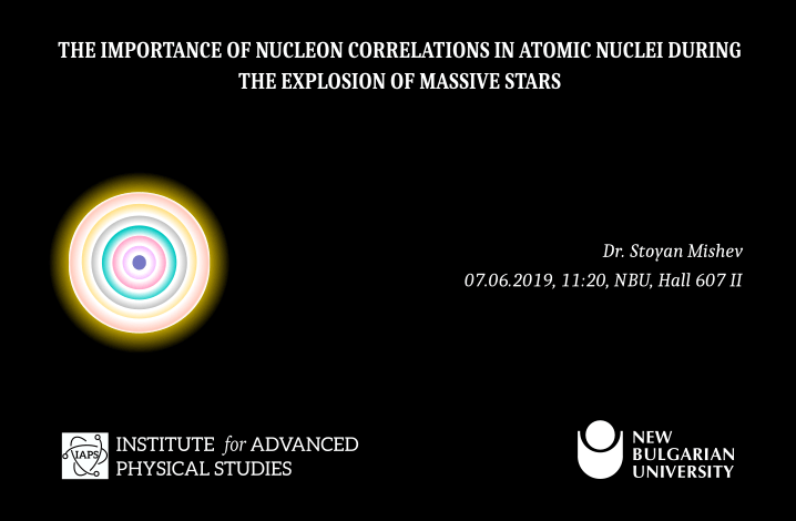 The importance of nucleon correlations in atomic nuclei during the explosion of massive stars