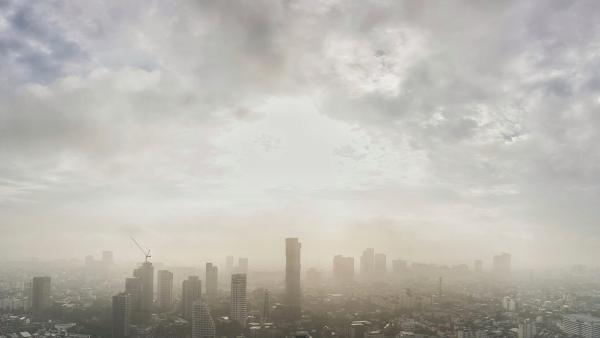 Summer heat and smog ozone