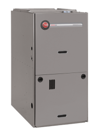 Review of Rheem 80% Efficient 2-Stage Gas Furnace - R802V ...