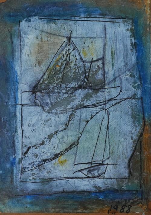 web 船と海と青