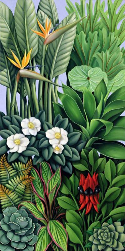 Foliage Painting : foliage, painting, Catherine, Foliage, Painting, Print