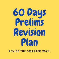 60 Days UPSC Prelims Revision Plan