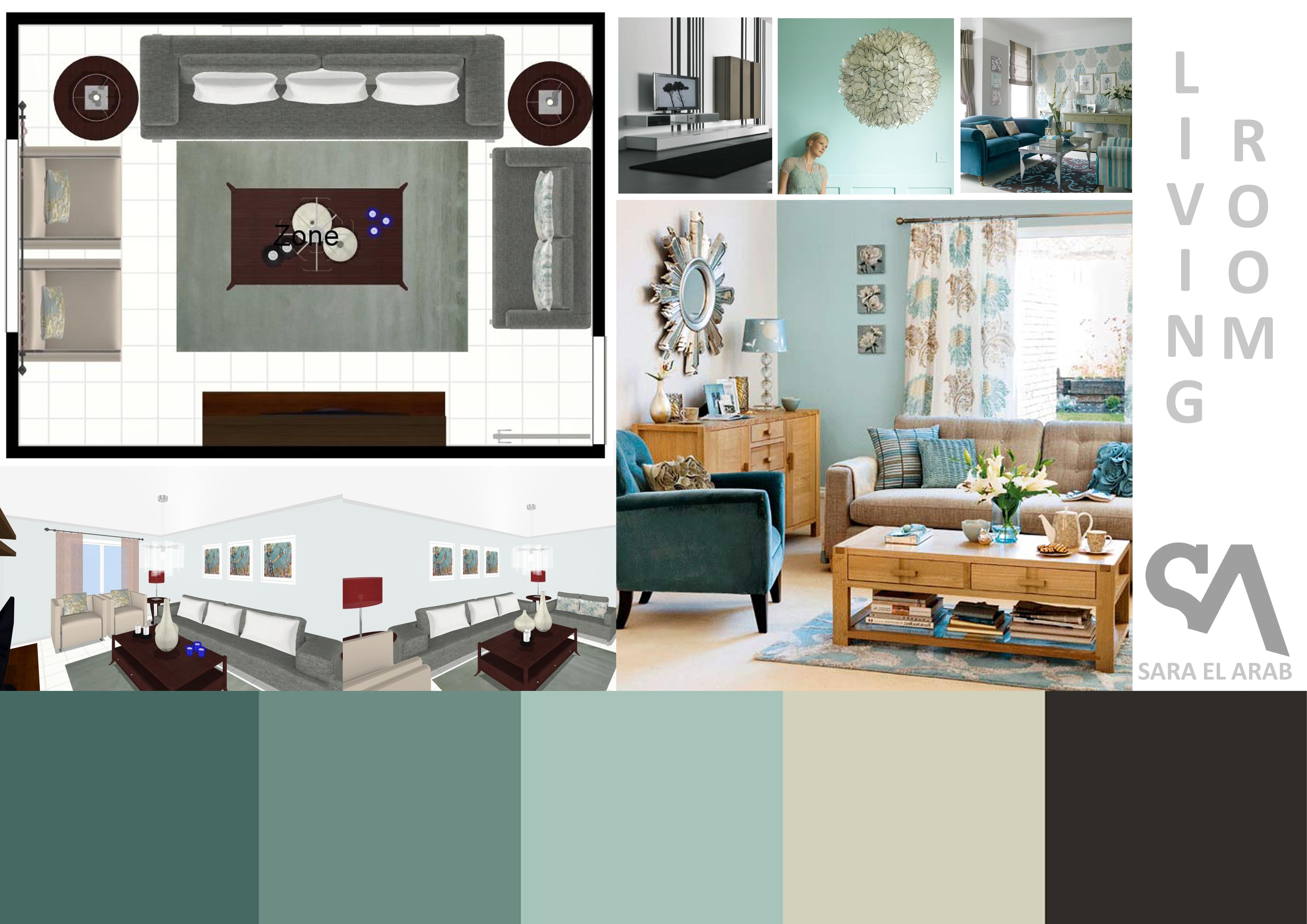 Living room Sample board  IAsara