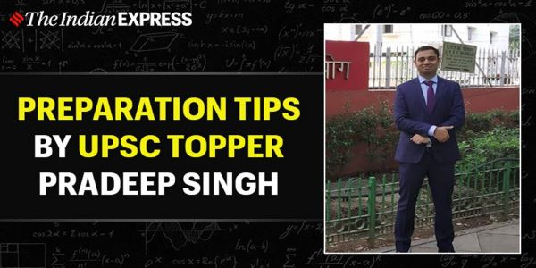 Pradeep Singh IAS has shared a few preparation tips in his news TV channel interviews. He is indeed an example of hard work and self determination.