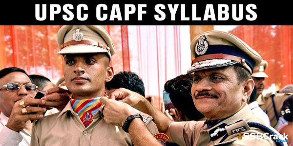 The UPSC CAPF Exam Syllabus is quite compact for UPSC Assistant Commandant. Hence, it can be easily covered. It majorly tests your GK and language proficiency. CAPF Full Form is Central Armed Police Force.