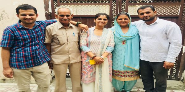 Anu Kumari IAS belonged to a middle class family from Haryana. She completed her college from Delhi as per Anu Kumari's Blog.