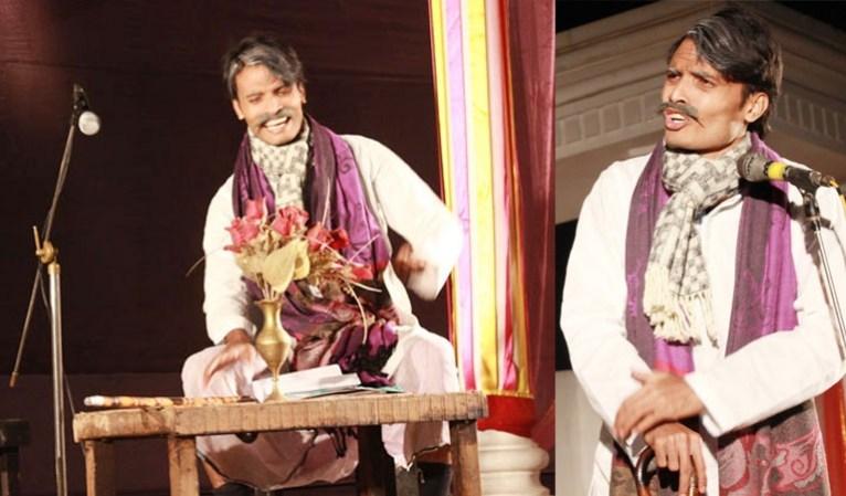 Theatre performer Ashiq