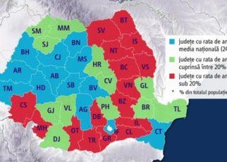 Moldova, liderul stagnării din România. Legătura cu România competitivă, cu hub-urile de tehnologie de la Cluj, fabricile de componente auto din Vest şi a salariilor mari este doar un proiect într-un sertar
