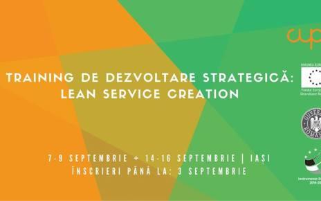 Training de dezvoltare strategică pentru manageri și antreprenori
