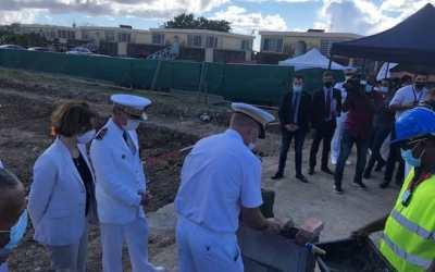 La ministre des Armées, Florence PARLY, en visite au Fort Saint-Louis