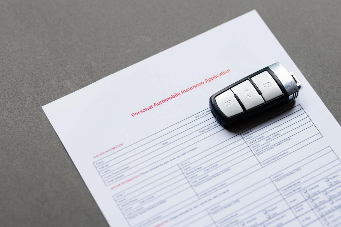 Automobile insurance policy.