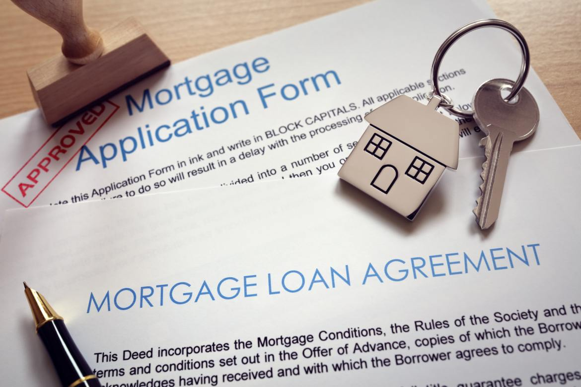 Have Your Documents In Place. Mortgage application form.