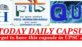 IASTODAY DAILY CAPSULE @ 7PM- MAY 7 [PIB, Hindu notes & MCQ