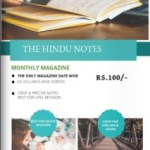 The Hindu notes monthly magazine [Pdf]