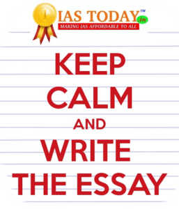 Essay test series