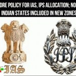 [IAS,IPS,IFoS]New cadre policy for allocation