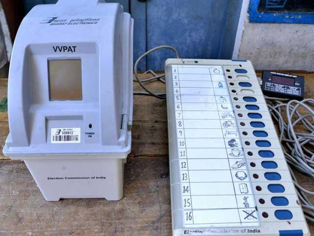 VVPAT & voting machines