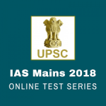 MAINS tests series 2018