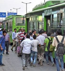 free bus rides during odd-even scheme