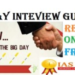 FREE INTERVIEW GUIDANCE FOR UPSC IAS EXAMINATION