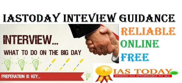 INTERVIEW GUIDANCE-IASTODAY