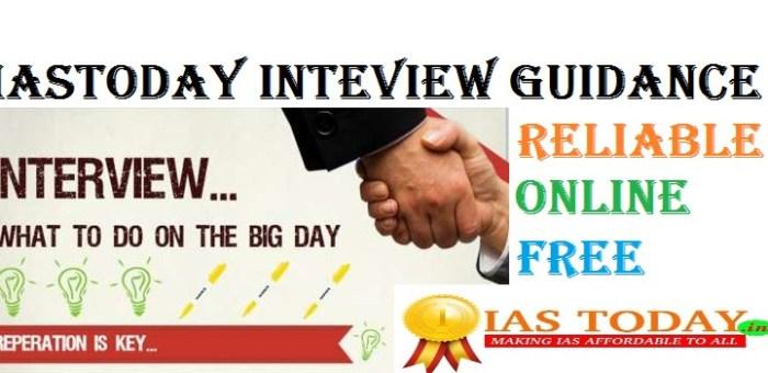 FREE UPSC CSE INTERVIEW GUIDANCE