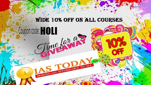 HOLI OFFER- WIDE 10% DISCOUNT ON ALL COURSES.